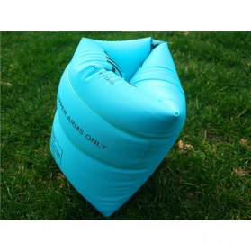 OK Xiaobeitoys Pelampung Lengan Inflatable Arm Band Rolls Up - HW1549 - Blue - 2