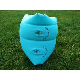 OK Xiaobeitoys Pelampung Lengan Inflatable Arm Band Rolls Up - HW1549 - Blue - 3