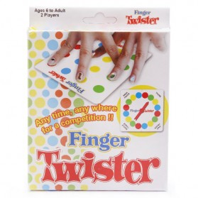 Finger Twister Dance Board Game
