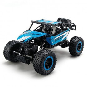 Monster Truck Bigfoot Off Road RC Remote Control 4WD 2.4GHz - D813 - Blue