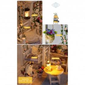 Cute Room Miniatur Rumah Boneka 3D DIY 1:24 - 3013 - White - 5