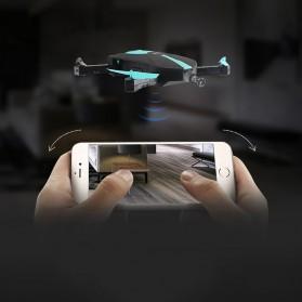 JUN YI TOYS Elfie FPV Quadcopter Pocket Drone WiFi 2MP 720P Camera - JY018 - Black - 6