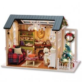 Pajangan Miniatur Rumah Boneka 3D DIY 1:24 - 8009A - Mix Color