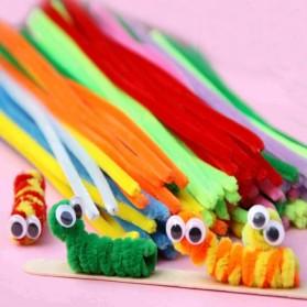 DIY Craft Shilly Plush Sticks Pipe 100 PCS - ZH - Multi-Color - 3