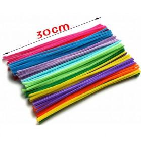 DIY Craft Shilly Plush Sticks Pipe 100 PCS - ZH - Multi-Color - 7