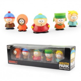 Action Figure South Park 5 PCS - Mix Color