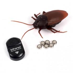 Remot Kontrol Mobil & Motor - Giant Roach Mainan Prank Kecoa Dengan Remot Kontrol - H1