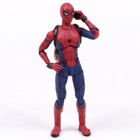 SHFiguart Spiderman Action Figure - Red/Blue