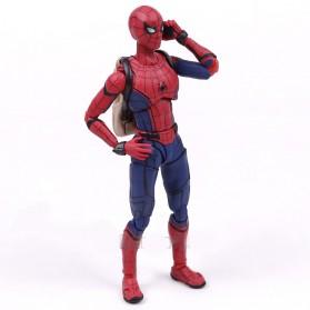 SHFiguart Spiderman Action Figure - Red/Blue - 2