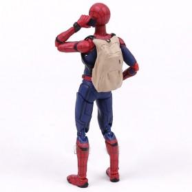 SHFiguart Spiderman Action Figure - Red/Blue - 3