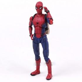 SHFiguart Spiderman Action Figure - Red/Blue - 4