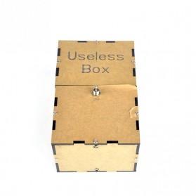 Mainan Useless Box Toy - UB - Black - 4