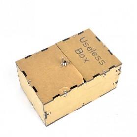 Mainan Useless Box Toy - UB - Black - 6