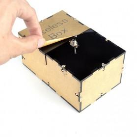 Mainan Useless Box Toy - UB - Black - 8