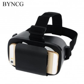 3D Mini VR Box Google Cardboard Virtual Reality Glasses - Black