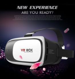 VR Box Virtual Reality Cardboard for Smartphone - White - 3