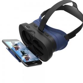 VB16 Mini VR Box Virtual Reality Cardboard for Smartphone - Black - 2