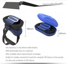 VB16 Mini VR Box Virtual Reality Cardboard for Smartphone - Black - 4