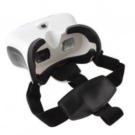 RITECH II VR Box Virtual Reality Cardboard for Smartphone - White - 3