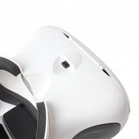 RITECH II VR Box Virtual Reality Cardboard for Smartphone - White - 4