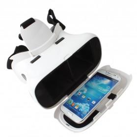 RITECH II VR Box Virtual Reality Cardboard for Smartphone - White - 5