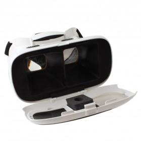 RITECH II VR Box Virtual Reality Cardboard for Smartphone - White - 6