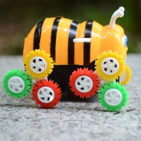Mainan Kendaraan Model Tumbling Bee - Yellow - 5
