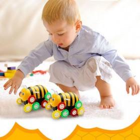 Mainan Kendaraan Model Tumbling Bee - Yellow - 9