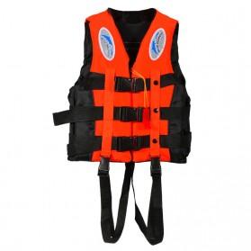 Olahraga Renang & Diving - BCVE Dolphin Rompi Pelampung Life Vest for Water Sport Size M - Orange
