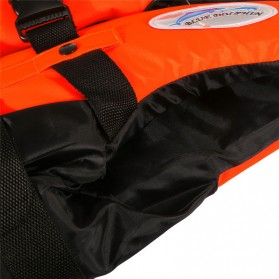 BCVE Dolphin Rompi Pelampung Life Vest for Water Sport Size L - Orange - 4