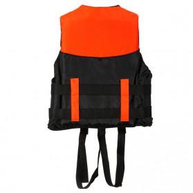 BCVE Dolphin Rompi Pelampung Life Vest for Water Sport Size XL - Orange - 2