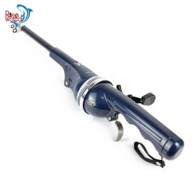 TaffSPORT Joran Pancing Foldable Telescopic Fishing Rod 1.3M - DZZH-1 - Blue - 4