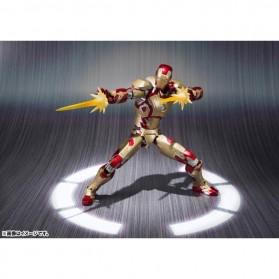 SHFiguarts Action Figure Iron Man Mark 42 + Sofa Tony Stark - Red/Golden - 3