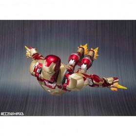SHFiguarts Action Figure Iron Man Mark 42 + Sofa Tony Stark - Red/Golden - 4
