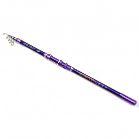 Zhenyi Joran Pancing Carbon Fiber Telescopic 2.4M - Purple