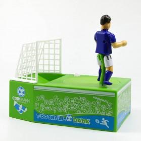 Celengan Koin Tendangan Penalti Pemain Sepak Bola - Green - 3