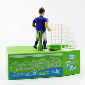 Celengan Koin Tendangan Penalti Pemain Sepak Bola - Green - 4