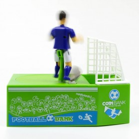Celengan Koin Tendangan Penalti Pemain Sepak Bola - Green - 5