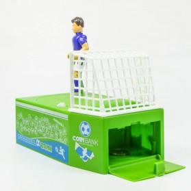 Celengan Koin Tendangan Penalti Pemain Sepak Bola - Green - 6