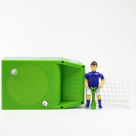 Celengan Koin Tendangan Penalti Pemain Sepak Bola - Green - 7