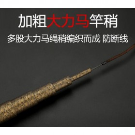 Joran Pancing Fiberglass Fishing Rod 2.7 Meter - Golden - 5