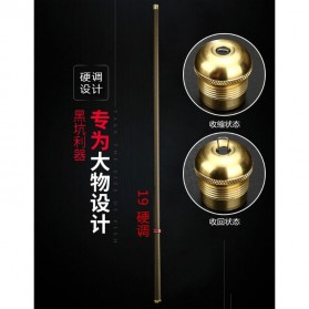 Joran Pancing Fiberglass Fishing Rod 2.7 Meter - Golden - 10