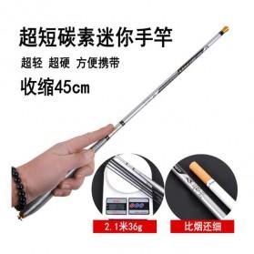 Joran Pancing High Carbon Fishing Rod 1.8 Meter - Silver - 3