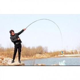 Joran Pancing Mini Portable Fishing Rod 1.2 Meter - Golden - 10