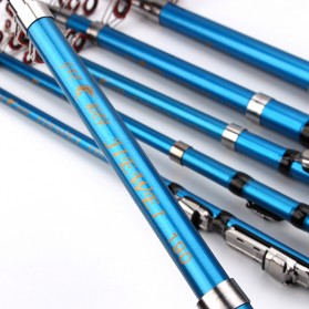 Joran Pancing Portable Telescopic 2.1M - Blue - 3