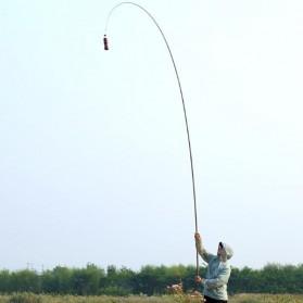 Joran Pancing Fiberglass Fishing Rod 4.5 Meter - Golden - 8