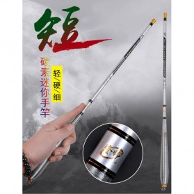 Joran Pancing High Carbon Fishing Rod 3.6 Meter - Silver - 1