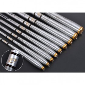 Joran Pancing High Carbon Fishing Rod 3.6 Meter - Silver - 8