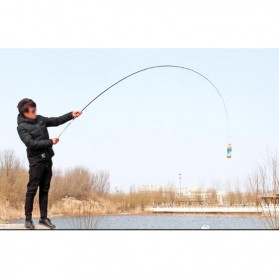 Joran Pancing High Carbon Fishing Rod 3.6 Meter - Silver - 10