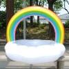 Pelampung Jumbo Model Rainbow Cloud Ring - Mix Color